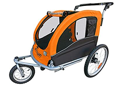 Large Pet Dog Stroller and Bike Bicycle Trailer from Booyah Strollers