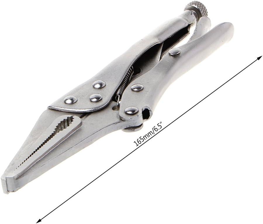 165 mm Handwerkzeug User Benutzer Schraubstock 17,8 cm Arretierzange,Spitze