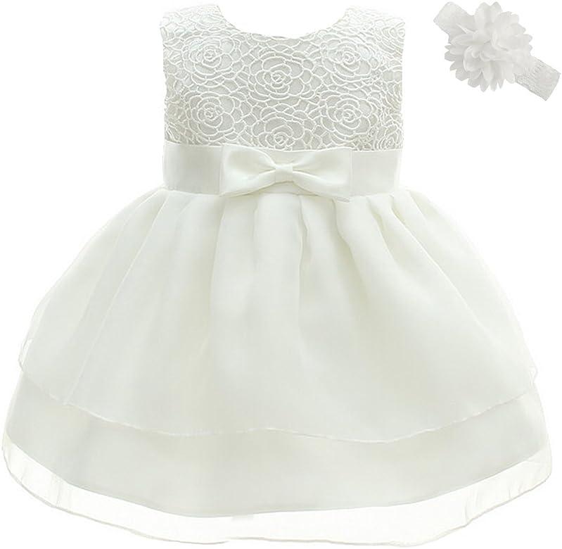 Dream Rover - Vestido de bautizo para niña o bebé, vestido para ...