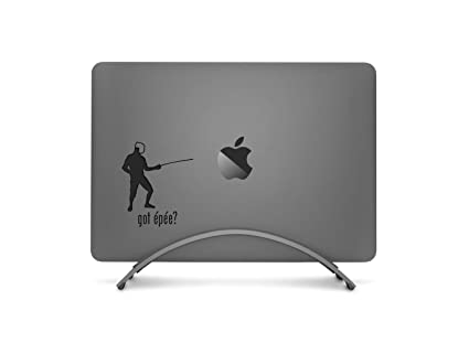 edcab02545ab GADGETS WRAP Got Epee Fencing Laptop Decal for Apple MacBook Pro Air ...