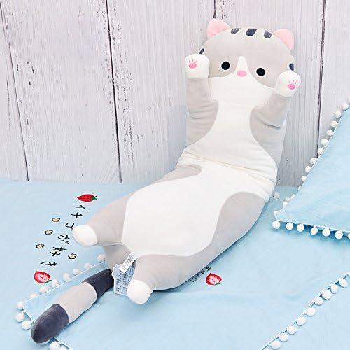 Amazon.com: unlockgift - Cojín de peluche para gato, diseño ...