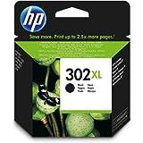 HP 302XL Black High Capacity Ink Cartridge for Officejet 3830 F6U68AE