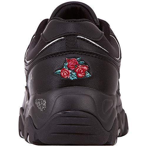 Felicity nero Romance Sneakers 1111 basse da donna Kappa nere zdwOzx