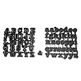 Tubby Alphabet Cutter Set by Patchwork Cutters