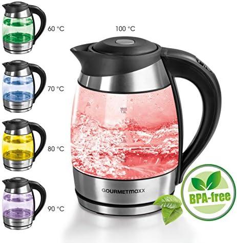 Aigostar Glass Kettle BPA Free, Otter