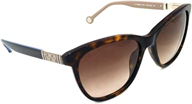 CAROLINA HERRERA Gafas de Sol SHE69254722P (Diametro 54 mm), Brown, 54/17/135 Unisex Adulto: Amazon.es: Ropa y accesorios
