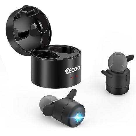 Mini Auriculares Inalámbricos Bluetooth V4.2 Deportivo In-Ear Headset, Tecnología de Estereofonía