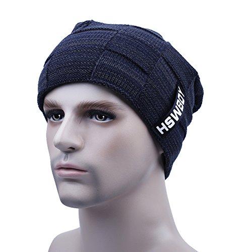 f19a326b2c4 Men s Beanie Hats Warm Knitting Hats Skullcap Winter Hats for Men From  super trade