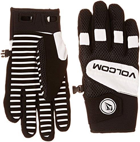 Mens Pipe Glove - Volcom Men's USSTC Pipe Glove, White, Small