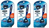 Schick Hydro 5 Disposable Razors for Men aiAFSC, Our Best Disposable Shaving Razor, 3Pack (3 Count)