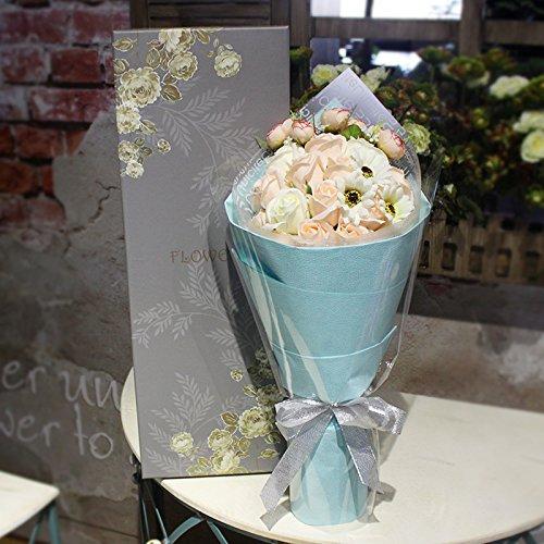 Adornos florales TXHLYD Cumpleaños Cumpleaños Bouquet Stars ...