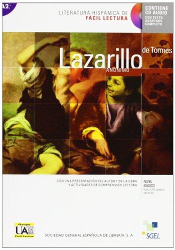 Lazarillo de Tormes + CD Audio (Nivel basico) Literatura Hispanica de Facil Lectura