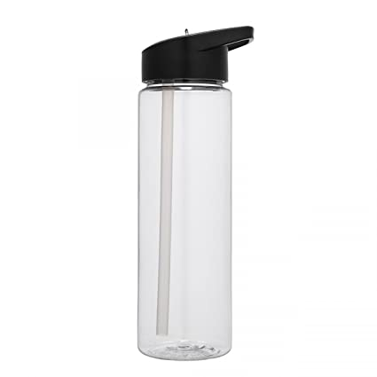 e6f4327833 Amazon.com : Tritan Plastic Sport Water Bottle, Clear, 24 oz plain bottle,  BPA Free : Sports & Outdoors
