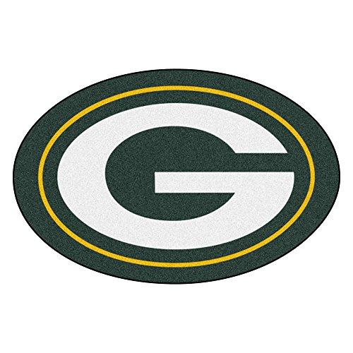 FANMATS 20970 Team Color 2' x 3' NFL - Green Bay Packers Mascot Mat ()