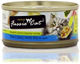 Fussie Cat Tuna with Small Anchovies Formula in Aspic (2.8 oz), My Pet Supplies