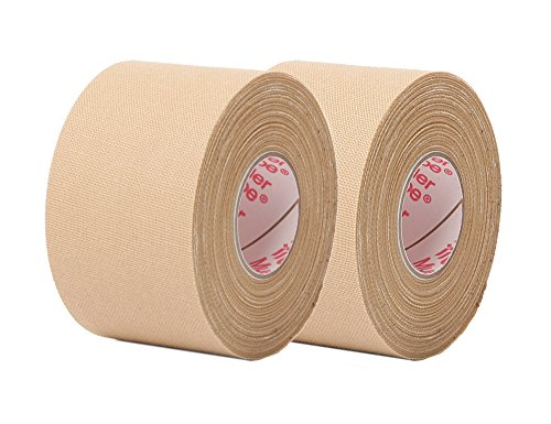 Beige Athletic Tape - 10-yard rolls of Mtape - 2 rolls