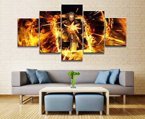 5 Piezas De Pintura Decorativa Gwent The Witcher Juego De ...