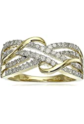 10k Yellow Gold Diamond Ring (1/3 cttw, H-I Color, I1-I2 Clarity)