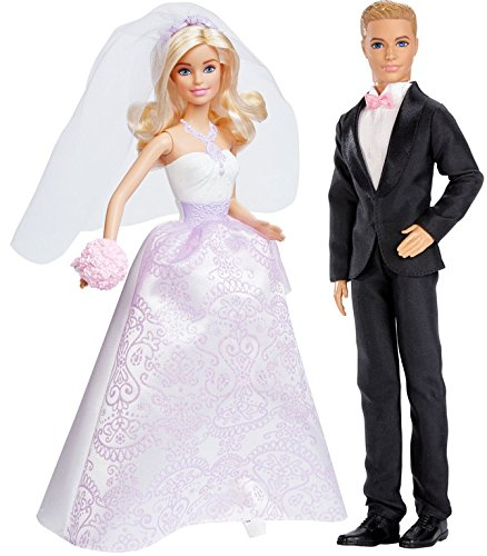 Amazon.es: Original Mattel Barbie - novios, Set - boda novia ...
