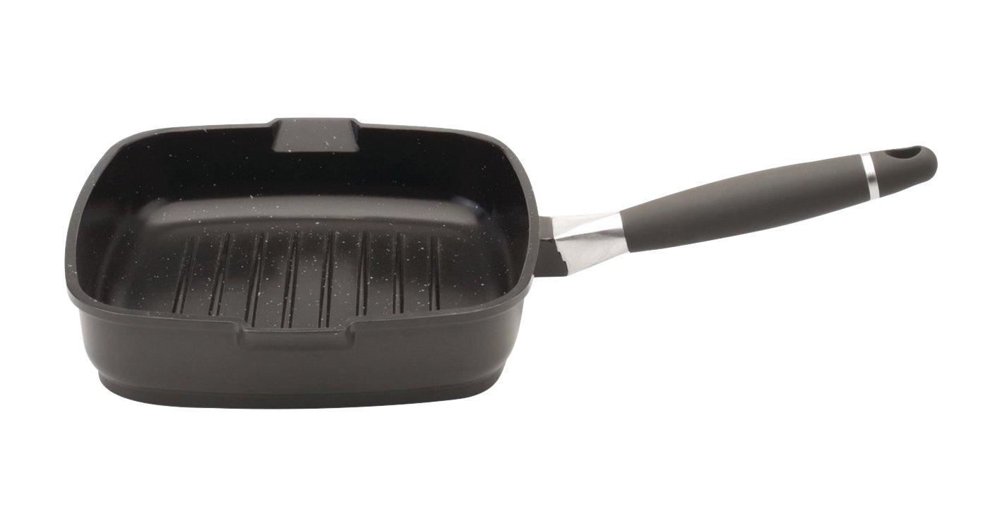 Berghoff 24/cm Virgo fonc/é Po/êle Grill en Aluminium Noir