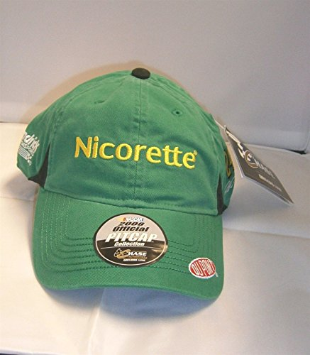 2008-Official-Pit-Cap-Jeff-Gordon-24-Nicorette-Green-Yellow-Highlights-Dupont-Motorsports-Hat-Cap-One-Size-Fits-Most-OSFM-Chase-Authentics