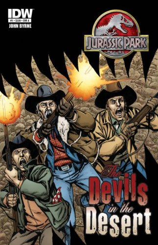 Download Jurassic Park #1 (The Devils In The Desert - Cover A) ebook