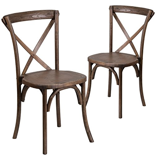 Flash Furniture 2 Pk. HERCULES Series Early American for sale  Delivered anywhere in USA