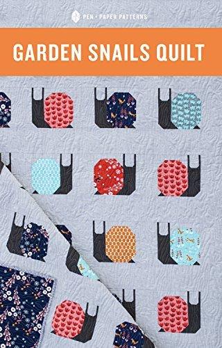 Pen and Paper Patterns- Garden Snails Quilt Pattern by Pen and Paper Patterns
