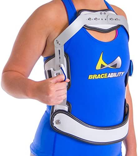Hyper-X TLSO Jewett Hyperextension Back Brace Orthosis   Prevent Thoracic & Lumbar Spine Flexion, Treat Compression Fractures and Osteoporosis (Large Short)