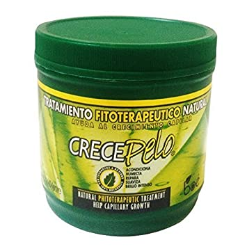 Crecepelo Tratamiento Fitioterapeutico Natural(Phitoterapeutic Treatment) 8oz