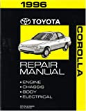 1996 Toyota Corolla Shop Service Repair Manual