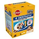 Pedigree Dentastix Daily Oral Care Dental Chews for Small Dog, Pack of 4 (Total 28 Sticks)