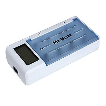 Amazon.com: Mr.Batt AA AAA C D 9V Cargador de baterías ...