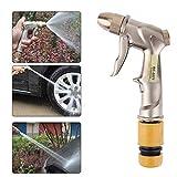 VODOOL 1Pcs Zinc Alloy Water Spray Gun Car Washing Home Garden Sprayer w/Hose Adapter Wand Cleaning Tool Distance Car Washing Tool New