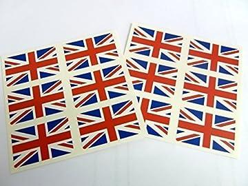 Self-Adhesive Spain Flag Labels Mini Sticker Pack FR19