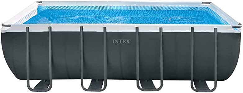 Intex 26356 Piscina Ultra Frame Rect, 549 x 274 x 132 cm: Amazon ...