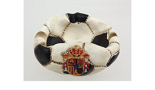 Cenicero balón fútbol fútbol Copa Torneo Escudo selección España ...