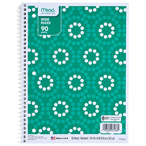 Mead Notebooks Designs