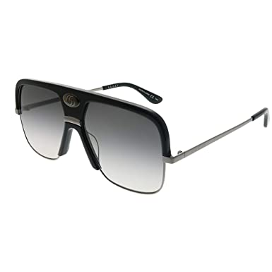 1b8a09927c Image Unavailable. Image not available for. Color  Sunglasses Gucci GG 0478  S- 001 BLACK GREY RUTHENIUM