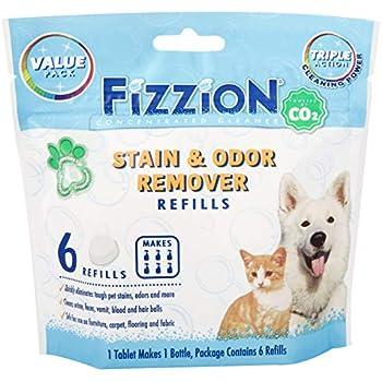 Amazon Com Fizzion Pet Stain And Odor Eliminator Removes