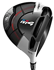 From the Tour to the amateur golfer, distance with consistency is the ultimate performance goal. With M4 driver, we have combined our revolutionary Twist Face technology with a new Hammerhead slot and a refined Geocoustic sole design to produ...
