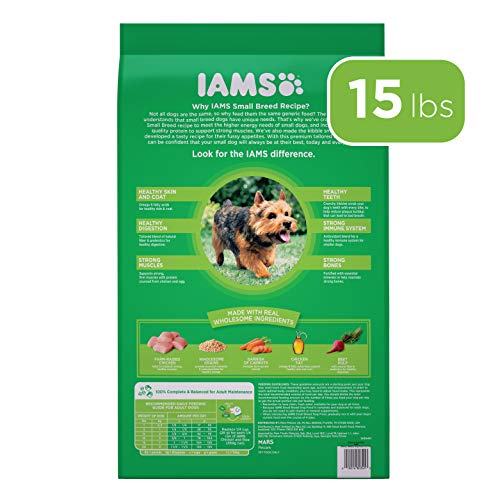 Iams Proactive Health Small Breed Adult Dry Dog Food, Chicken