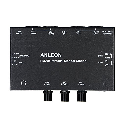 ANLEON PM200 Personal Monitor Station Multi-Channel Mixer stage monitor