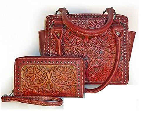 trinity-ranchr-floral-tooled-leather-medium-tote-wristlet-wallet-burgundy