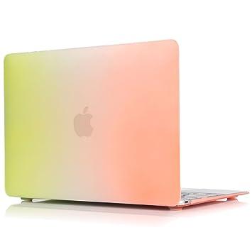 SULN duro caso para MacBook Air 11 pulgadas (modelo A1370/A1465 carcasa protectora multicolor Rainbow D
