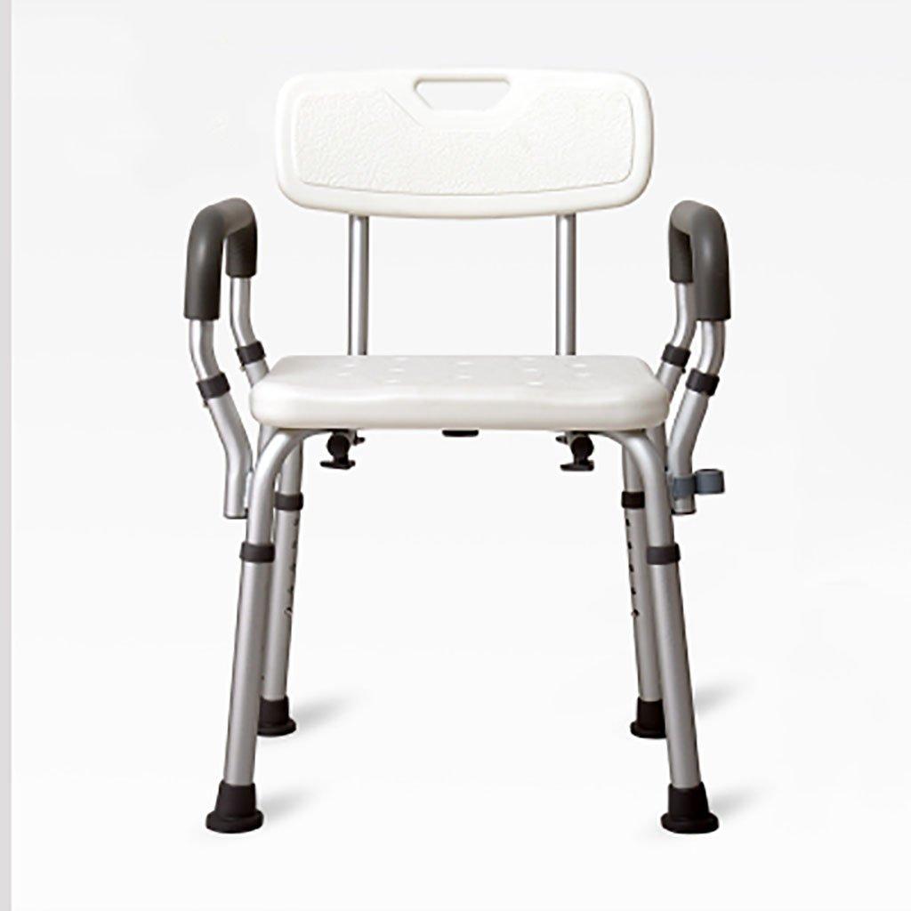 最安値 シャワースツール\シャワーチェア バスルームスツールアルミシャワーチェア障害援助ノンスリップバスチェア5高齢者、身体障害者、妊婦、高さ調節可能な高さ バスシートベンチ\バススツール B07DXG9KZT B07DXG9KZT, フェアリーチェPlus:a9848127 --- build-home.itmediagroup.ru