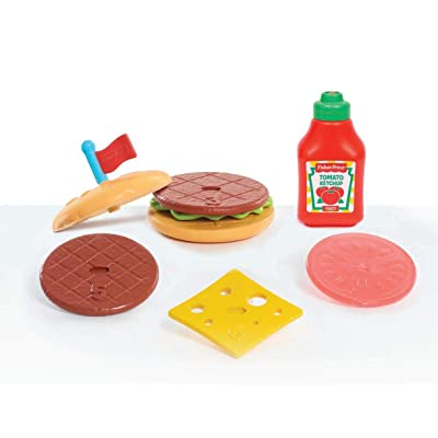 Fisher-Price Burger Set, Multicolor 93500: Toys & Games