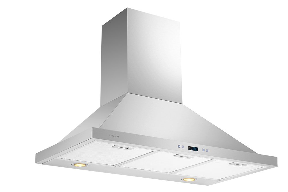 CAVALIERE 36'' Wall Mounted Stainless Steel Kitchen Range Hood 900 CFM SV218B2-36 by CAVALIERE (Image #2)