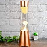 Premium Copper Effect Lava Lamp