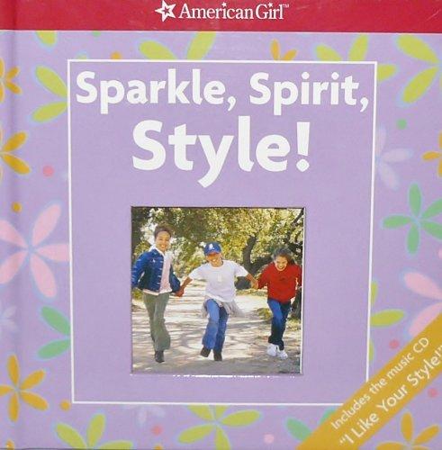 f7e444eba09c American Girl Sparkle, Spirit, Style! with the Music CD